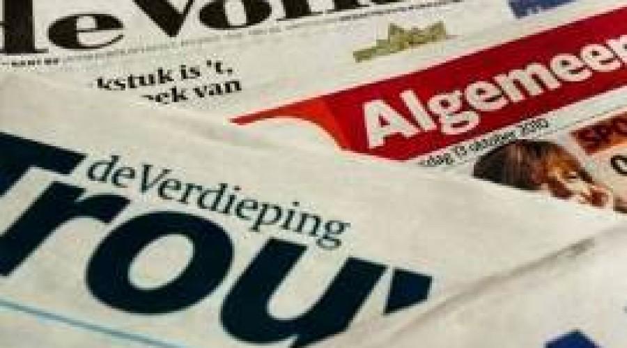 400 banen weg bij De Persgroep/Wegener