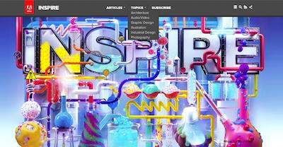Adobe Inspire: een digitaal Magazine om in te verdwalen