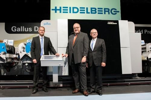KBA met HP en Heidelberg met Fuji/Gallus: traditionele offsetpersbouwers gaan weer digitaal
