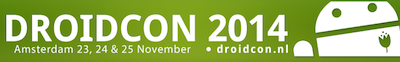 DroidconNL 2014: weten wat er allemaal gebeurt in de Android wereld