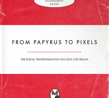 From Papyrus to Pixels: Hoe The Economist de toekomst van het boek ziet
