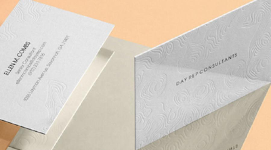 Amerikaans web2print service levert 500 fake hoogdruk visitekaartjes voor 330 dollar
