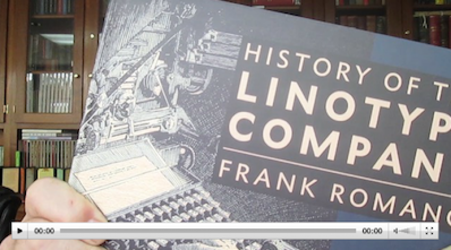 History of the Linotype Company en de History of Phototypesetting Era: twee bijzondere boeken van Frank Romano