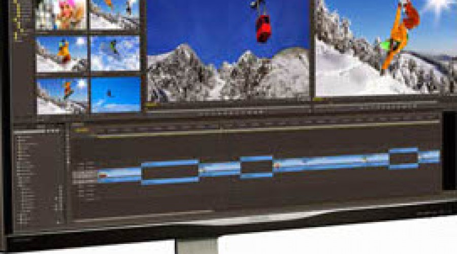 UltraWide-scherm van 34 inch met panoramisch beeld