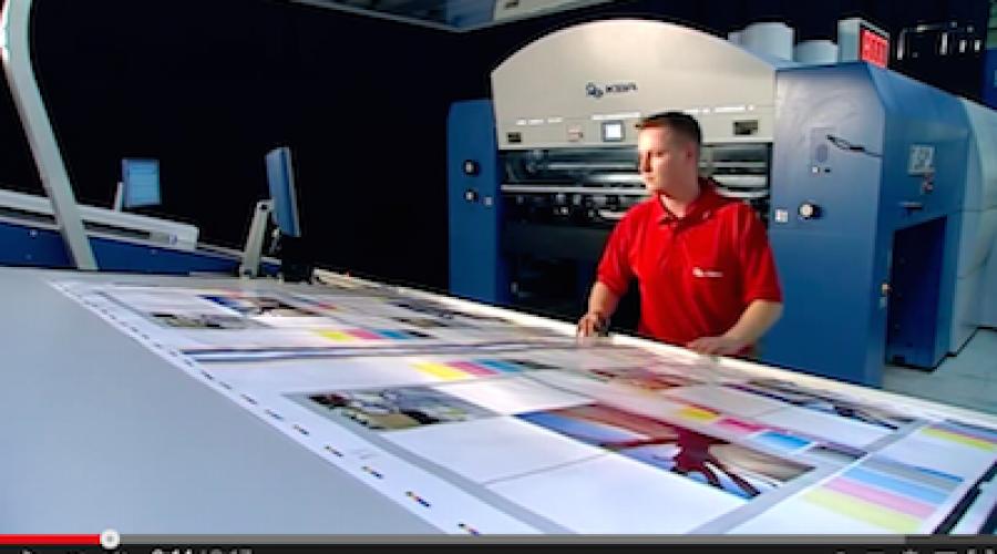 KBA Rapida 205: Hoe tem je een superformaat drukmonster