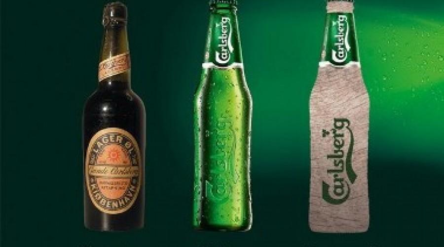 Carlsberg komt met kartonnen bierfles