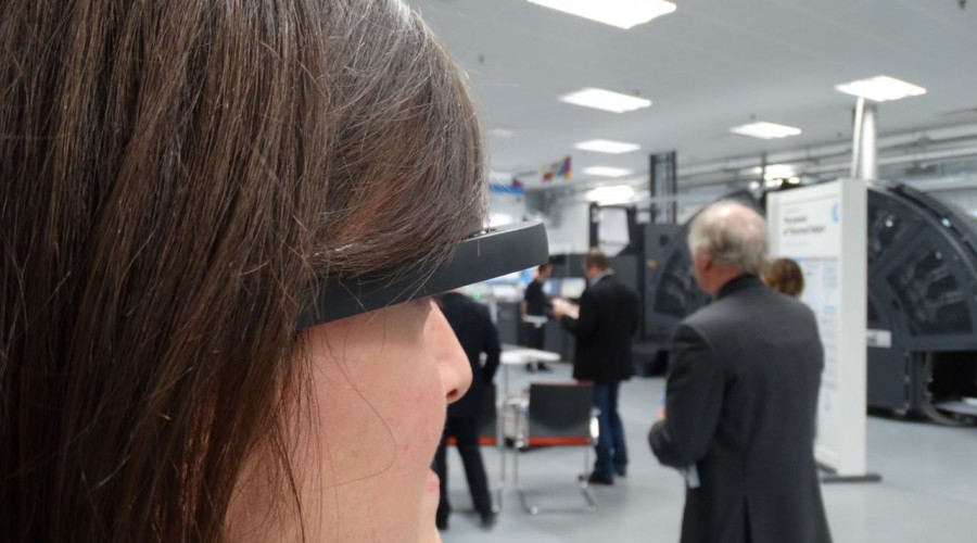 HP zet Google Glass in voor service