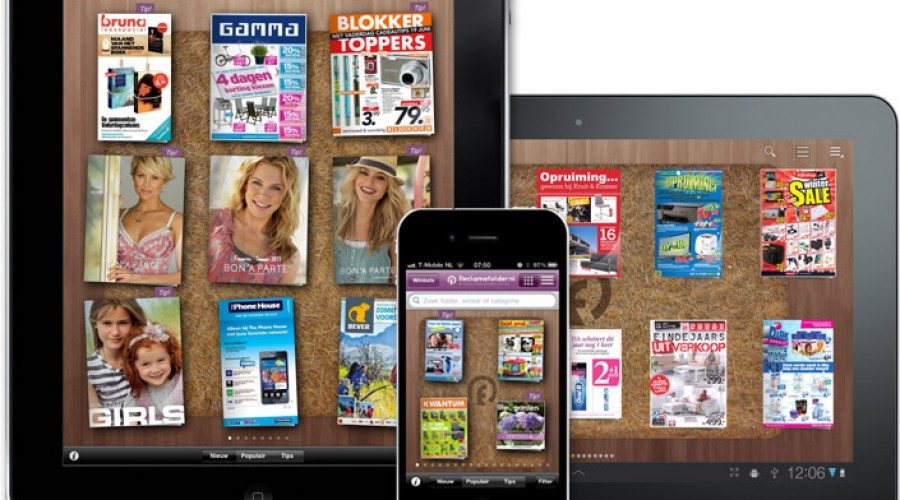 RTL Ventures investeert in reclamefolder.nl