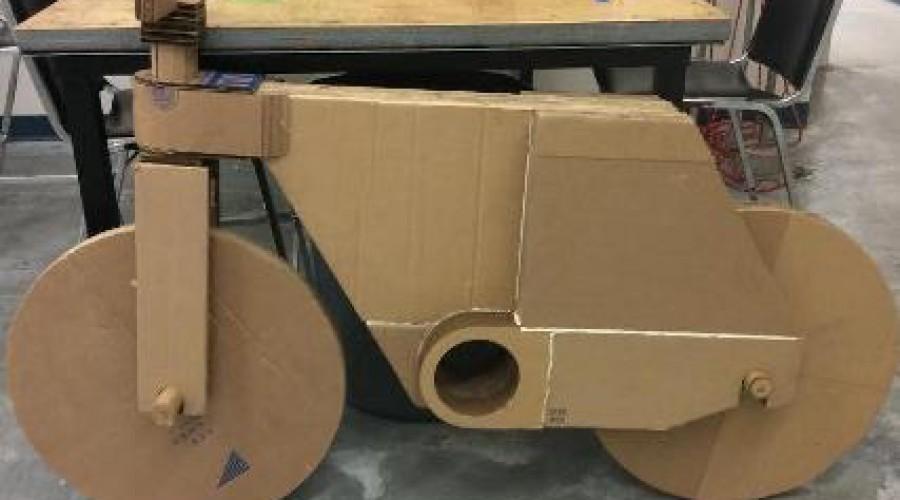 Fiets maken? Neem wat karton en een 3D-printer