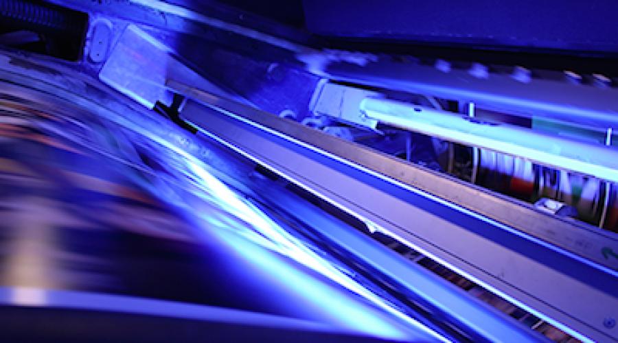 Roland 700 Evolution krijgt energie besparende LED UV droging