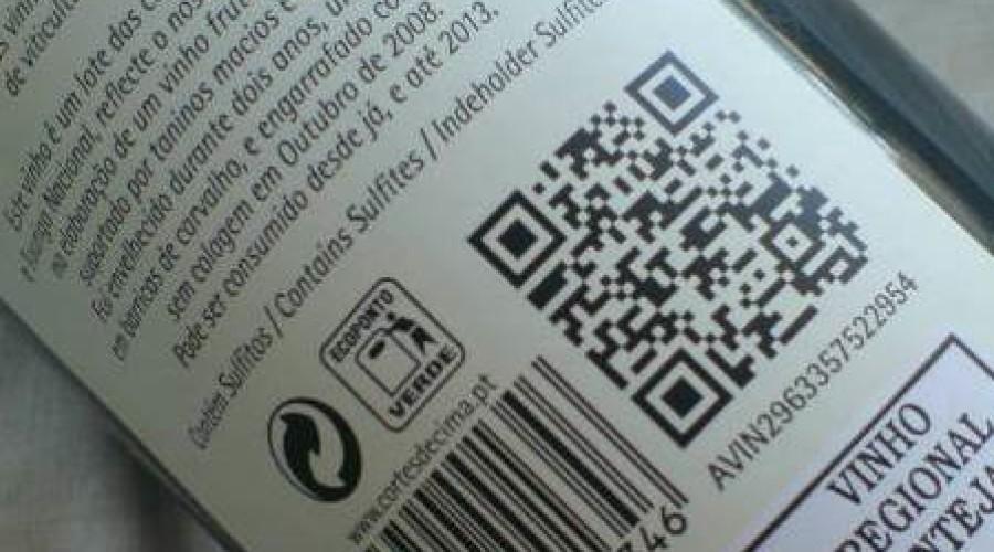 Smart label met QR-code tegen namaak