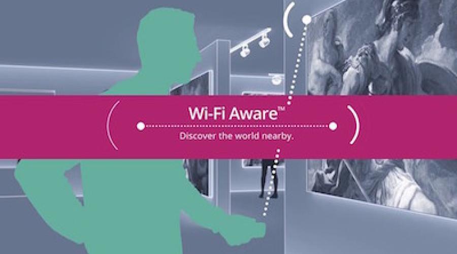 W-Fi Aware: wifi verbindingen worden intelligenter en sneller