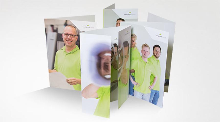 Folders drukken; hoe kun je je onderscheiden?